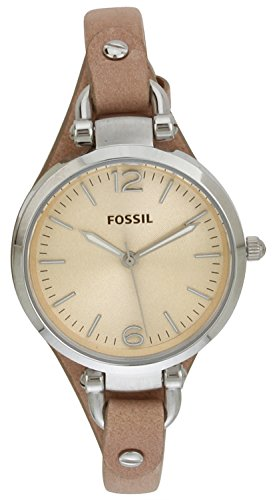 Fossil Fossil Georgia Analog Peach Dial Women's Watch - ES2830 (Orange)