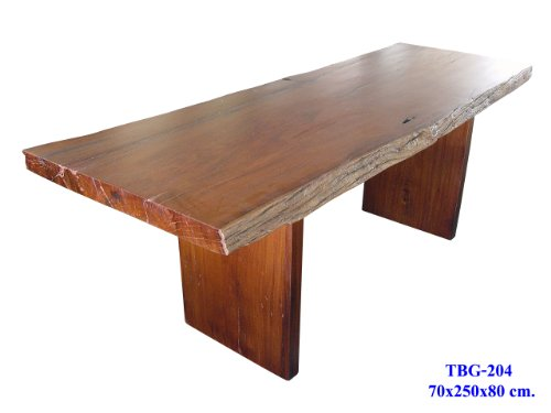 Solid Mango Wood Dining Table Custom Sizes Available Thai Furniture Details