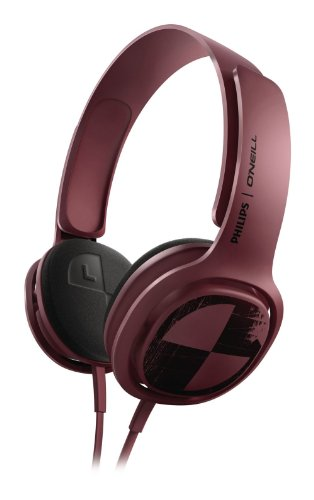 Philips Sho3300Brdo/28 Philips O'Neil Cruz Headband Headphones, Deep Purple