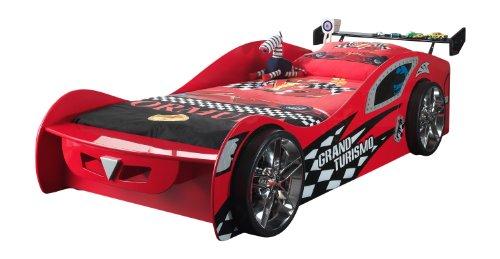 Vipack SCGT200R Grand Turismo Lit Enfant MDF Rouge 240 x 110 x 65 cm