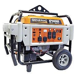 Generac Power Systems 5931 Professional Series Portable Generator With Electric Start, 8000-Watt