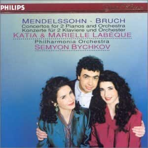 Mendelssohn / Bruch: Concertos for Two Pianos