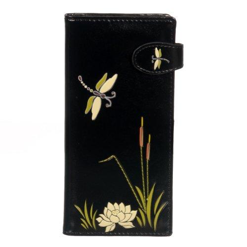 New Black Dragon Fly крупных женщин's бумажника…
