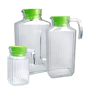 Kitchen Concepts Quadro Jugs, 3 Jug Set