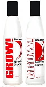 Grow Hair Faster with Grow Hair Growth Shampoo and Conditioner Best Shampoo and Conditioner for Faster Growing Hair