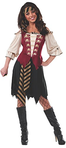 Women's Elegant Pirate Adult Costume