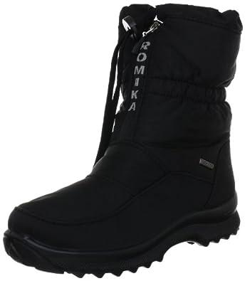 Romika Colorado 118 58028, Damen Snowboots, Schwarz (schwarz 100), EU 35