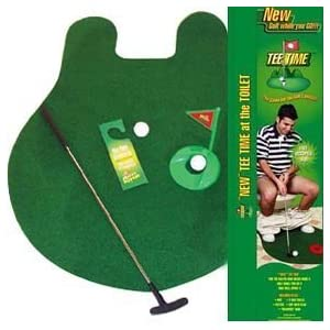 41N4EGF3SAL. SL500 AA300  Tee Time Toilet Potty Putter