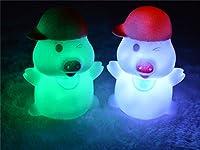 Mc-dull Shape 7 Color Change Decoration LED Night Lamp by Viskey