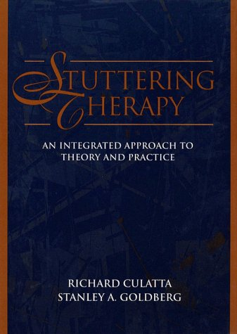 Stuttering Therapy: An Integrated Approach to Theory and Practice PDF