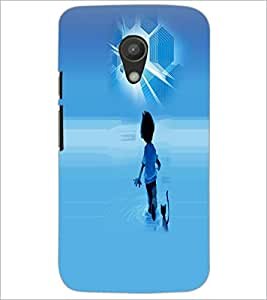 PrintDhaba Cartoon D-4009 Back Case Cover for MOTOROLA MOTO G2 (Multi-Coloured)