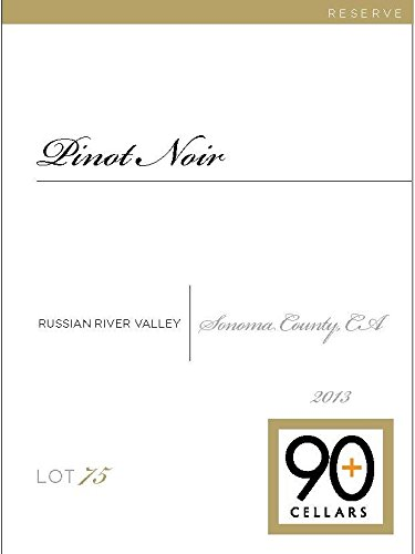 2013 90+ Cellars Lot 75 Russian River Valley Reserve Pinot Noir 750 Ml