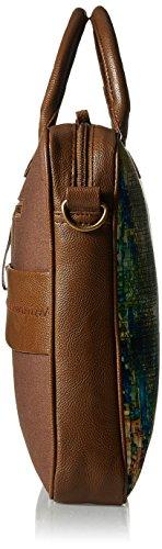 Kanvas Katha Canvas Dark Brown Laptop Bag (KKLPB006DB)