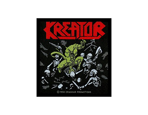 Kreator-Pleasure To Kill-Woven Patch SP334 by Kreator