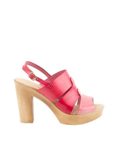 Daneris Sandalo 3 Fasce Crix [Rosso]
