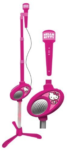 Hello Kitty Microphone Stand W/ Micrpphone - Pink (19909) By Hello Kitty Toy