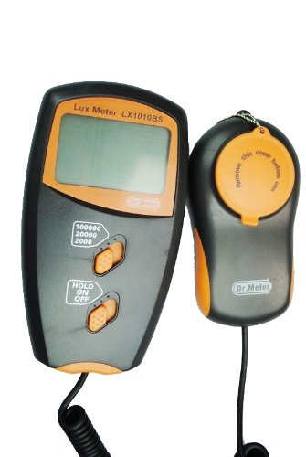 Dr.Meter Light Meter Lx1010Bs With Lcd Display ,100,000 Lux Luxmeter