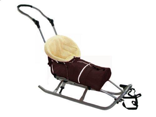 SFF-marron-16-sET-xXL-traneau-avec-amortisseur-en-laine-de-mouton-avec-thermofusack-et-acrylique-ne-feutre-pas-de-baby-joy-4-babyschlitten-mANCHE-dOSSIER