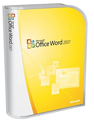 Microsoft Word 2007 Version Upgrade