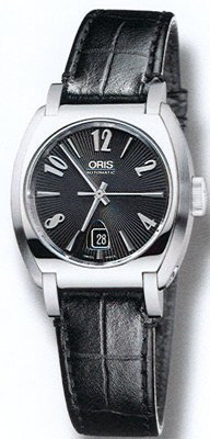 Oris Frank Sinatra Date Stainless Steel Ladies Automatic Watch 561-7573-4064LS