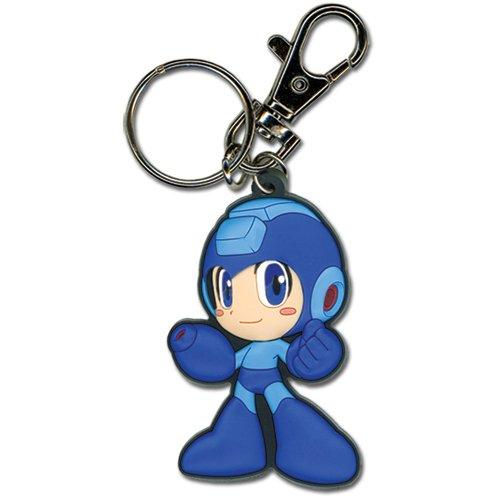 Megaman Powered Up Mega Man PVC Keychain