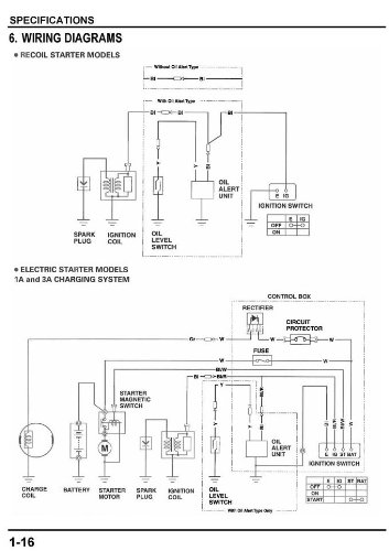 41N4Tx3MgHL honda gx240 gx270 gx340 gx390 engine service repair shop manual honda gx270 wiring diagram at gsmx.co