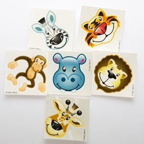 Zoo Animal Tattoos front-1063043