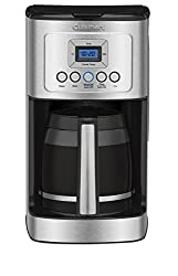 Cuisinart DCC-3200 14-Cup Glass Carafe with Stainless Steel Handle Programmable Coffeemaker, Silver from Cuisinart