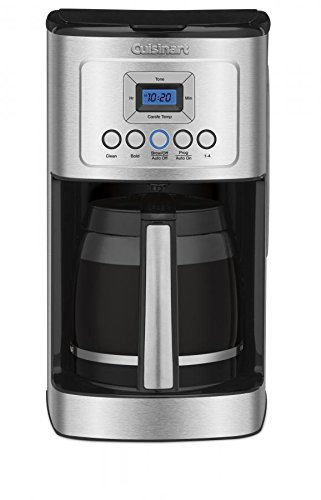 Cuisinart DCC-3200 Perfec Temp 14-Cup Programmable Coffeemaker, Stainless Steel