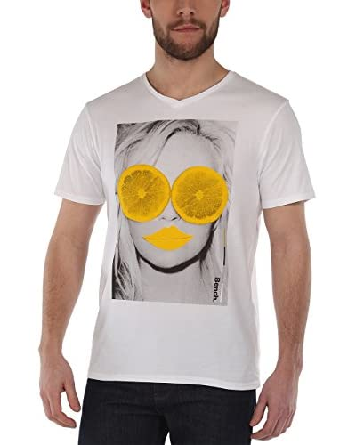 Bench Camiseta Manga Larga Blanco
