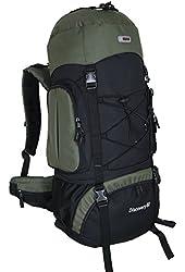 HBAG Discovery 80L 5400ci Internal Frame Camping Hiking Backpack