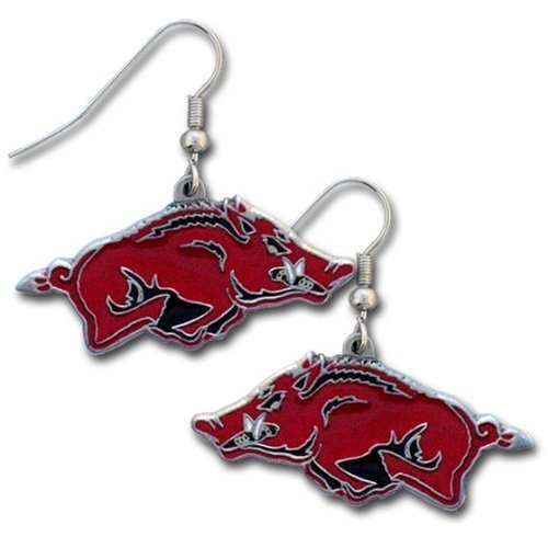 NCAA Arkansas Razorbacks Dangle Earrings at Amazon.com