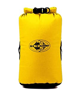 Sea to Summit Big River Dry Bag,Yellow,65-Liter