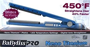 "Babyliss Pro Straighten 1-1/4"" Nano Titanium Flat Iron (Case of 6)"