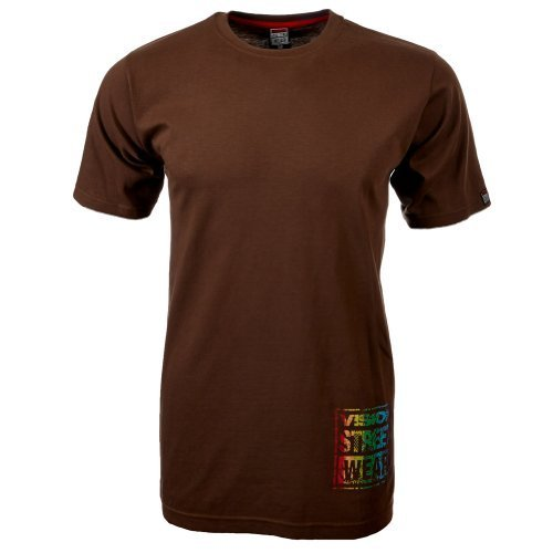 Vision Street Wear Multi Color Logo T-Shirt , carafe