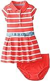 Nautica Baby Girls' Yarn Dye Stripe P…