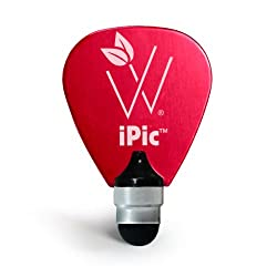 Woodees WMIPRD iPic Multi Purpose Pick Stylus - Red
