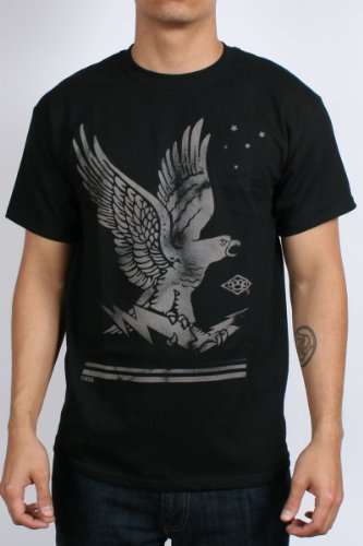 10 Deep - From Above Mens T-Shirt in Black , Size: Small, Color: Black
