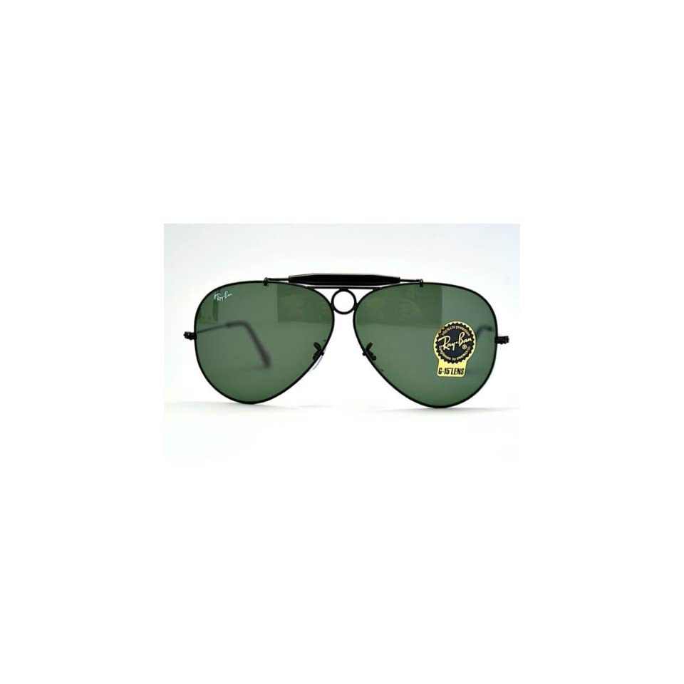 086d09fa55998 Ray Ban RB3138 Black  Crystal Green 002 58mm Sunglasses on PopScreen