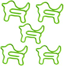 Lovely 10 Nonskid Paper Clips Per Pack Pack Of 5 Green