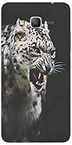 Snoogg Leopard Fury Case Cover For Samsung Galaxy Grand Duos 2 G7106