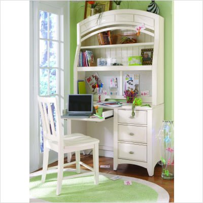 Buy Low Price Comfortable Opus Designs 425-10-341 / 425-10-544 / 425-10-700 Sidney White Student Computer Desk with Hutch in White (B001G9LMS8)