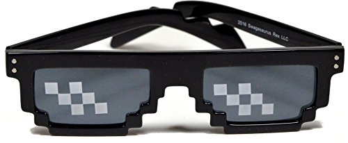 Deal With It Thug Life Pixelated 8-Bit Internet Sunglasses