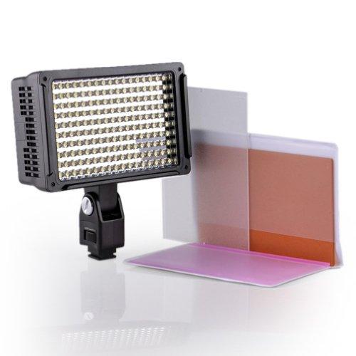 Dste Vl003 Professional 170-Led Video Light Digital Camera Camcorder Photography Lamp Adjustable -- Hot Shoe Seat Width 1.8Cm