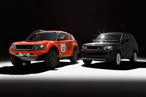 "Land Rover Range Rover Sport Bowler Exr S Car Art Poster Print On 10 Mil Archival Orange/Black Duo View 20""X15"""