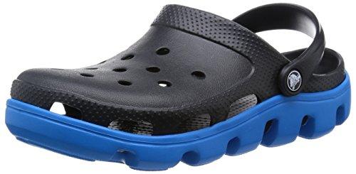 [クロックス] crocs Duet Sport Clog 11991 07U(Black/Ocean/M8/W10)