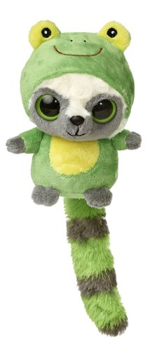 "Aurora World YooHoo & Friends Wanna Be Frog Plush, 5"" Tall - 1"