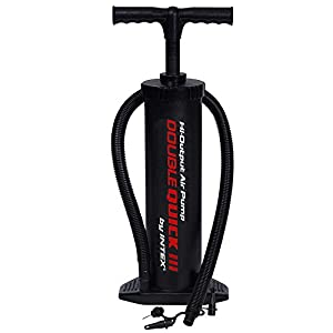 Intex Luftpumpe Hochleistungshandpumpe, Schwarz, 48 cm