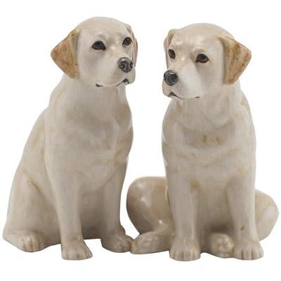 Quail Ceramics - Yellow Labrador Salt And Pepper Pots from Quail Ceramics
