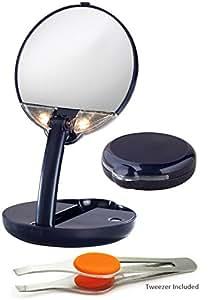 Amazon Com Floxite Mirror Mate Lighted Adjustable